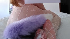 Lavender Tail w/ White Tip (5362274042018)