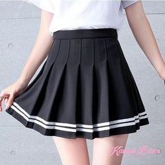 Plaid Uniform School Girl Skirt