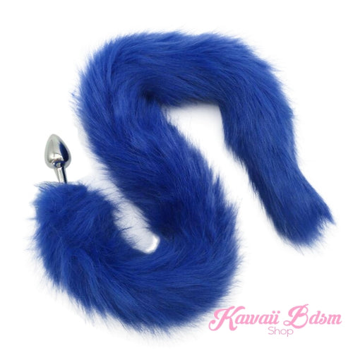 Extra Long Blue Tail Plug