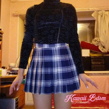 Tartan plaid school girl mini fashion japanese seifuku neko babygirl little one ddlg mdlg ageplay roleplay fetish kink daddy dom sexy street fashion outfit alternative goth by Kawaii BDSM - cute and kinky / Worldwide Free Shipping
