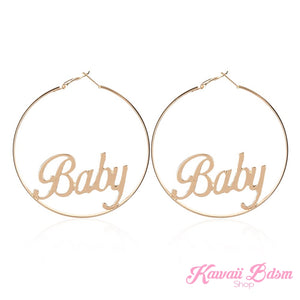 Baby Hoops Earrings