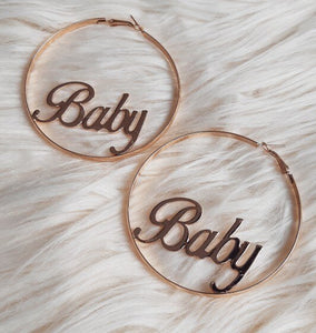 Baby Hoops Earrings (5665443479714)