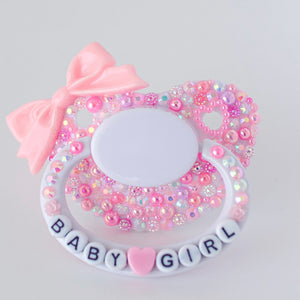 Baby Girl Custom Pacifier