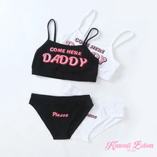 Come Here Daddy Lingerie Set (5572715217058)