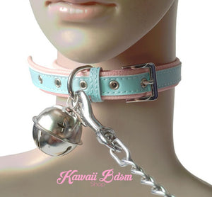cat collar leash choker fashion japanese lolita sexy slave sub submissive ddlg cglg cglb mdlb mommy daddy little bondage black pink gothic fashion outfit petplay ageplay roleplay aesthetic pet kitten  by Kawaii Bdsm - Cute and Kinky / Worldwide Free and Discreet Shipping  (11527340167)