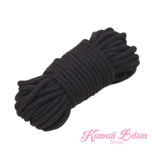 Shibari Rope kinbabu tied restraints Bondage submissive pink purple red and black cotton soft cute aesthetic kink positive  by Kawaii Bdsm - Cute and Kinky / Worldwide Free and Discreet Shipping (10887775047)