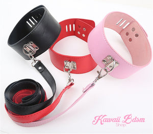 Lockable Collar & Leash
