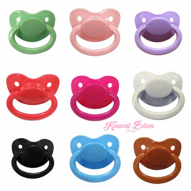 binkie pacifier pacci ddlg abdl ddlb cgl cglg cglb little boy girl babygirl babyboy daddy dom submissive adult baby diaper lover large size pink black blue custom by Kawaii BDSM - cute and kinky / Worldwide Free Shipping