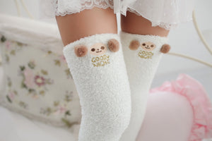 Fluffy Sheep Thigh Highs