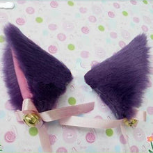 Classic Cosplay Cat Ears with Bells (11085259079)