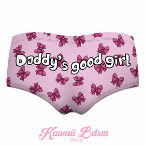daddy's little girl ddlg lg little one girl bows sexy lingerie panties ageplay cglg pink babygirl babydoll babe by Kawaii Bdsm - Cute and Kinky / Worldwide Free and Discreet Shipping  (11043843975)