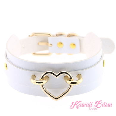 Choker heart collar goth gothic pastel fashion outfit japanese alternative babygirl roleplay ddlg daddy dom mdlg mdlb ddlb little girl boy sissy pet petplay kitten kittenplay puppyplay by Kawaii BDSM - cute and kinky / Worldwide Free Shipping (480881704997)
