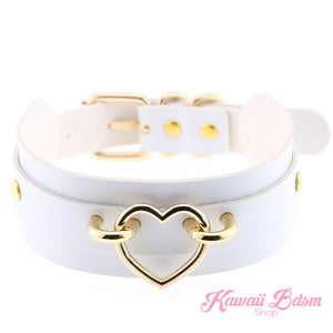 Baby Heart Collar - Gold