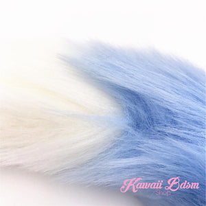 Light Blue w/ White Tip Tail Plug