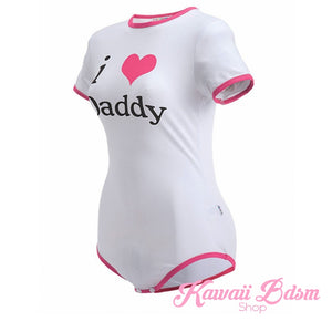 DDLG babygirl hentai princess daddy's dom onesie baby submissive romper jumpsuit lingerie sexy ABDL adult by Kawaii BDSM - cute and kinky / Worldwide Free Shipping