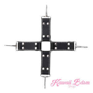 Luxury 8 Pcs Bondage Kit Black & Pink (441252642853)