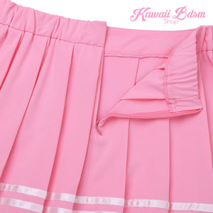 DDLG babygirl school seifuku japanese fashion outfit hentai princess daddy's dom onesie baby submissive skirt romper jumpsuit lingerie sexy ABDL adult by Kawaii BDSM - cute and kinky / Worldwide Free Shipping (716986318900)