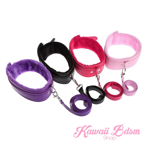 Fluffy Collar & Leash (11170936007)