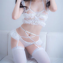 Hentai Babe Harness Lingerie Set