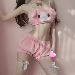 Fuzzy Melody  Cinnamoroll Lingerie Set