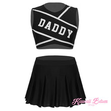 daddy babygirl cheeleader outfit baby ddlg little girl one doll cgl roleplay petplay kittenplay kitten fetish submssive ddlgworld ddlgplayground by Kawaii BDSM - cute and kinky / Worldwide Free Shipping