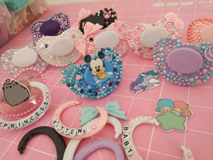 Unicorn Custom Pacifier (4537689178164)