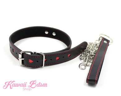 Tiny Hearts Collar & Leash