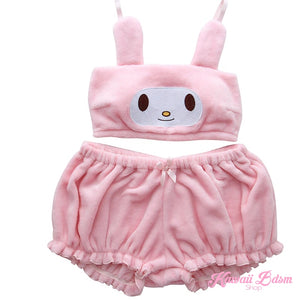 my melody  Cinnamoroll  anime aesthetic kawaii waifu cute hentai babe neko sexy lingerie bra shorts set pink white babygirl ddlgworld ddlg ageplay bondage submissive kittenplay roleplay kitten pet japanese adegao by Kawaii BDSM - cute and kinky / Worldwide Free Shipping (4495322841140)