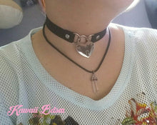 Heart Padlock Day collar