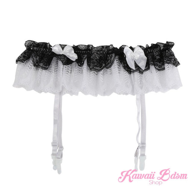 BabyDoll Garter & Stockings Set