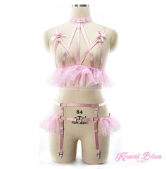 Kinky Princess Harness Lingerie Set