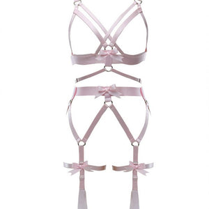 Angel Harness Lingerie Set