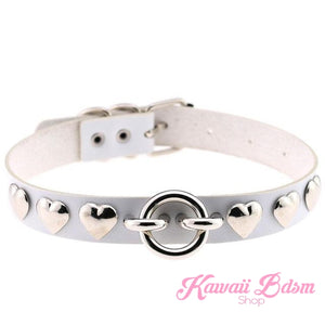 Rivet Hearts Collar (907299717172)