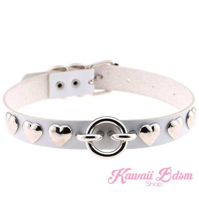 Rivet Hearts Collar