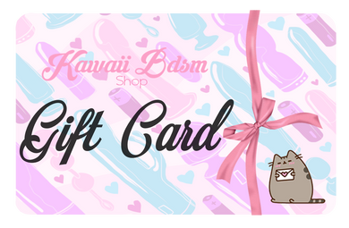 Kawaii Bdsm Gift Cards