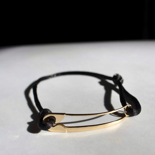 Limited Edition: humanKIND 14K gold bracelet