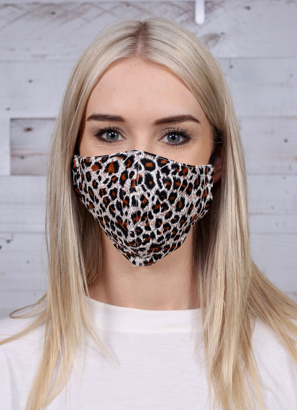 Anders Animal Print Mask Leopard - Caroline Hill