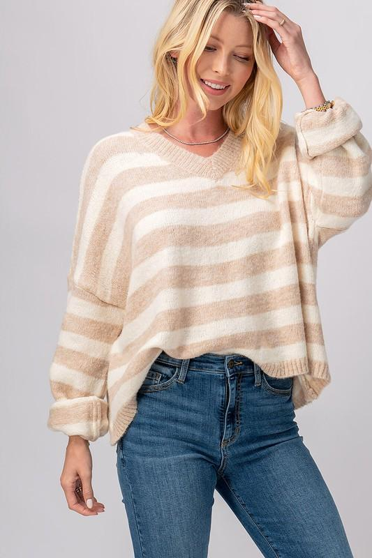 Best Of The Best Neutral Sweater - Caroline Hill
