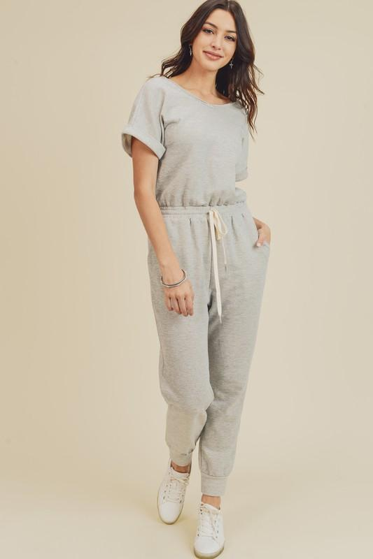 Chill Zone Terry Jumpsuit - Caroline Hill
