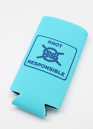 Classic KR Slim Can Koozie- Turquoise - Caroline Hill