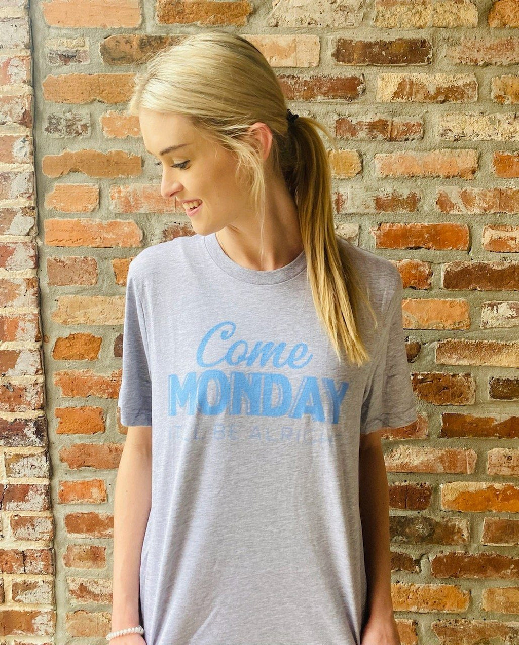 Come Monday Tee by Knot Responsible - Caroline Hill