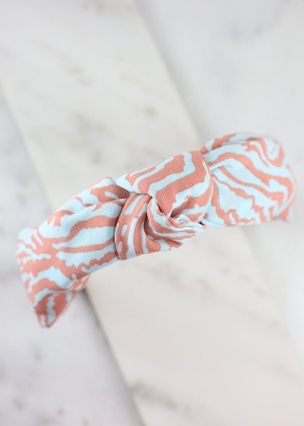 Cotton Candy Zebra Print Headband Multi - Caroline Hill