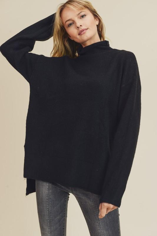 Courtney's Favorite Black Sweater - Caroline Hill