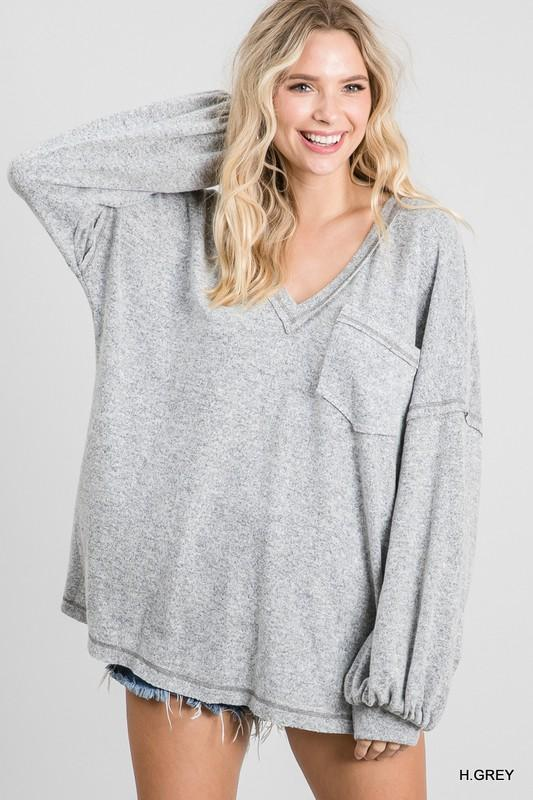 Cozy Movie Night Top - Caroline Hill