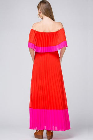 Falling For You Red Maxi Dress - Caroline Hill