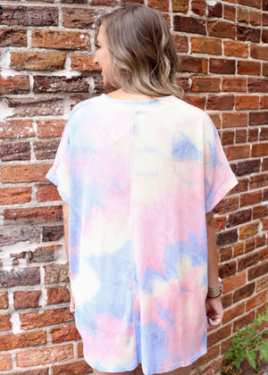 Full Circle Tie-dye Oversized Tee - Caroline Hill