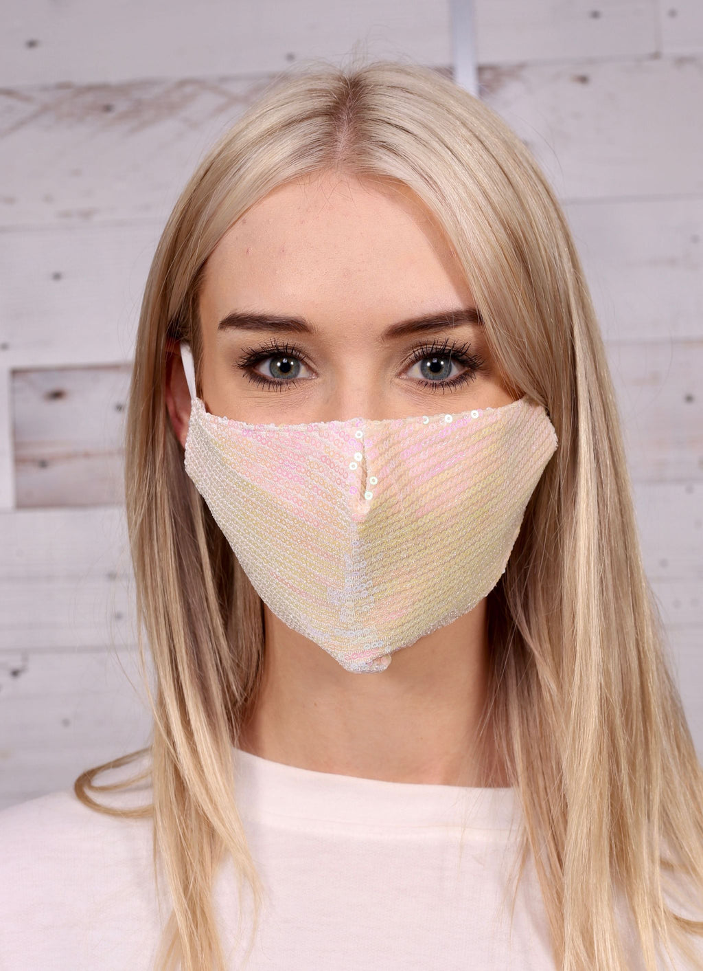 Geary Sequin Face Mask - Caroline Hill