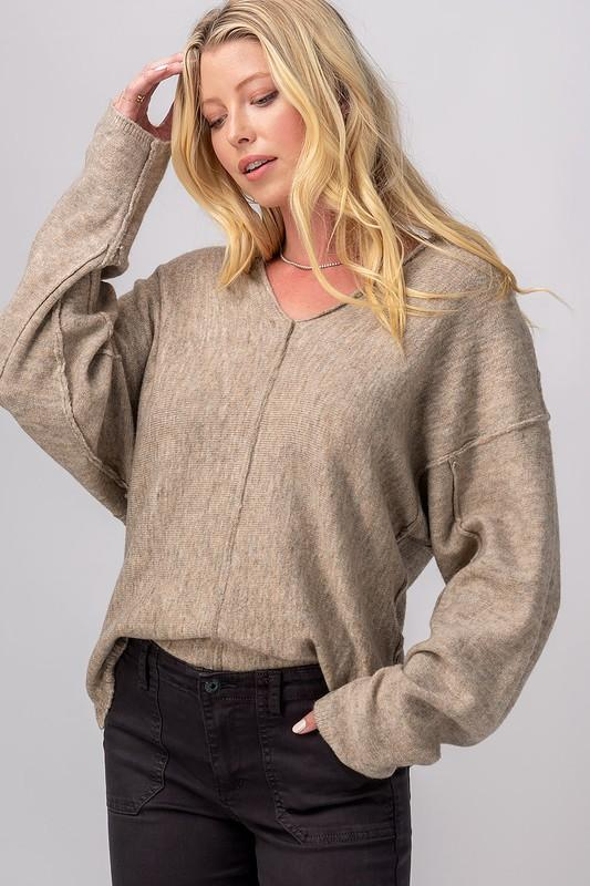 Give Me All The Neutrals Sweater - Caroline Hill