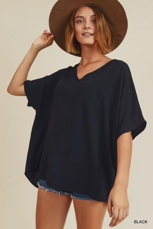Good Lookin' Basic Black Top - Caroline Hill