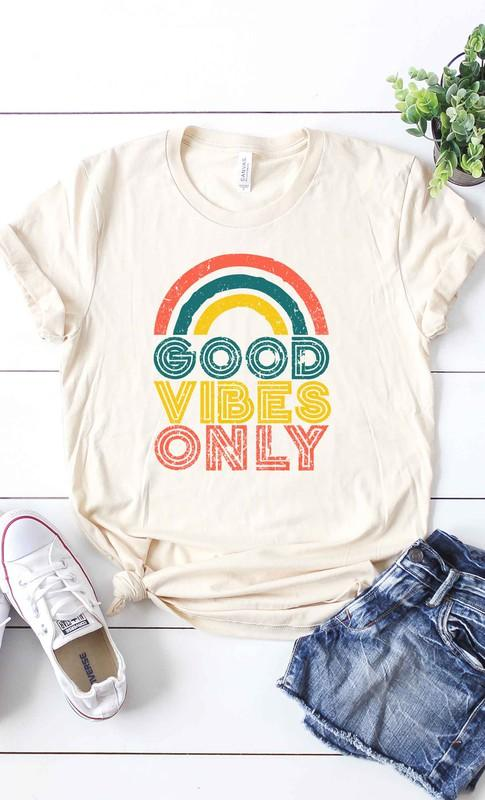 Good Vibes Only Graphic Tee - Caroline Hill